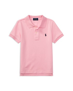 c09d01d91 Ralph Lauren - Boys' Solid Mesh Polo Shirt - Little Kid