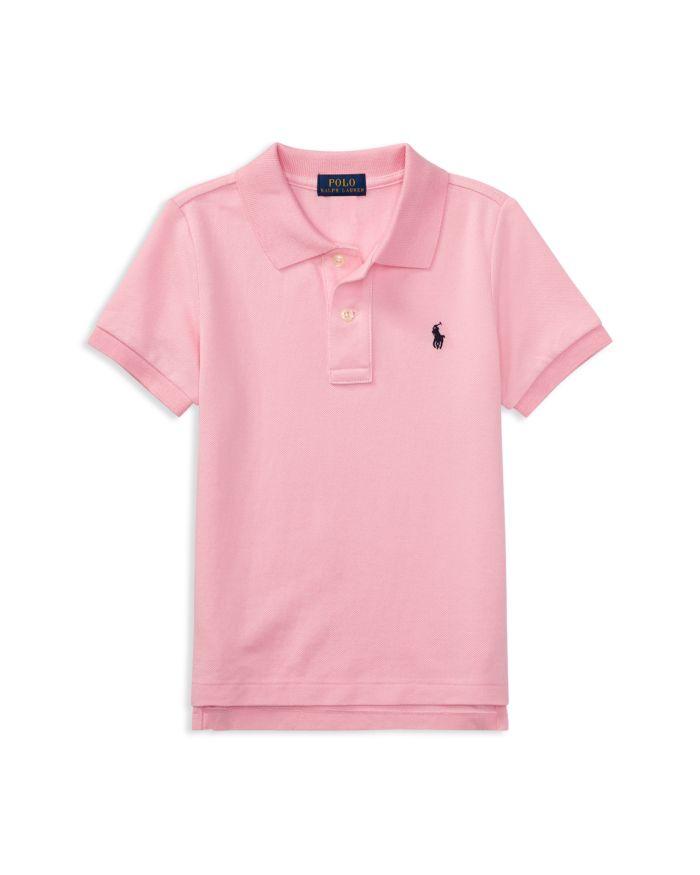 Ralph Lauren Boys' Solid Mesh Polo Shirt - Little Kid, Big Kid    Bloomingdale's