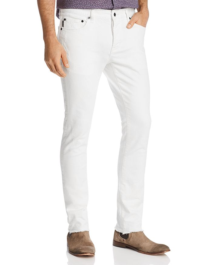 John Varvatos Star USA - Bowery Slim Fit Jeans in White - 100% Exclusive