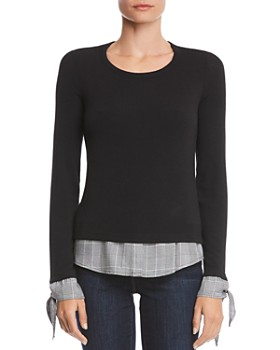 Bailey 44 - Double Date Layered-Look Top