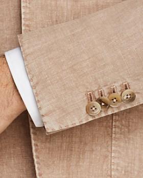 L.B.M - Garment-Dyed Linen Slim Fit Sport Coat
