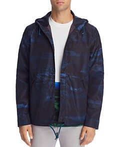 Paul Smith - Ocean-Print Hooded Jacket
