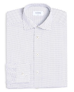 Eton - Printed Slim Fit Dress Shirt