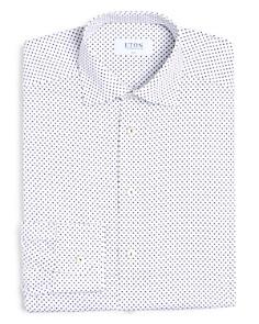Eton - Printed Slim Fit Dress Shirt