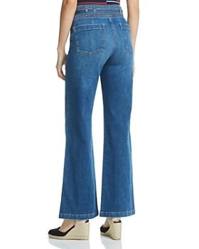 Joe's Jeans - High Rise Wide-Leg Jeans in Penny
