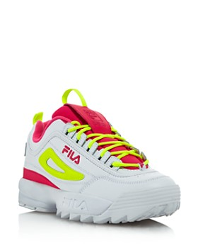 0fcc7cf36ea8 FILA - Women s Disruptor 2 Premium Lace-Up Sneakers - 100% Exclusive ...