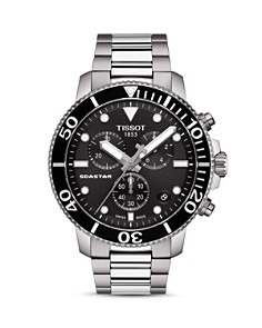 Tissot - Seastar 1000 Black-Dial Chronograph, 45.5mm