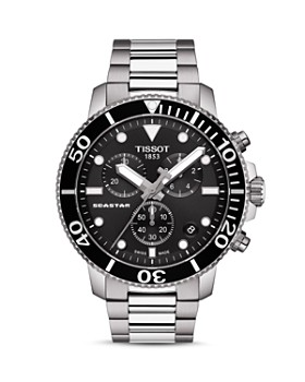 Tissot - Seastar 1000 Black-Dial Chronograph, 45.5mm