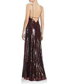 Fame and Partners - Madeleine Sequined Gown