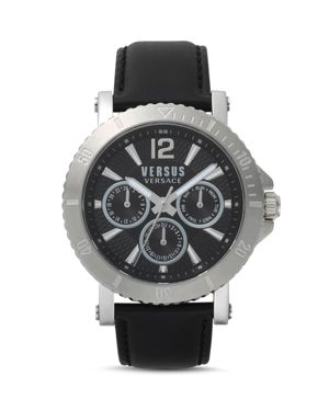 Versus Versace Steenberg Black Watch, 45mm