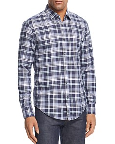 BOSS - Ronni Plaid Slim Fit Shirt