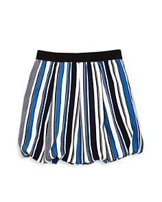 AQUA - Girls' Striped Bubble Skirt, Big Kid - 100% Exclusive
