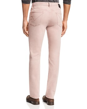 John Varvatos Star USA - Slim Straight Fit Jeans in Rose