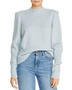 Joie - Marquetta Strong-Shoulder Wool Sweater