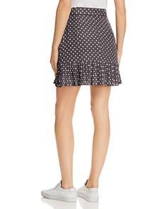 Bardot - Spotty Pleated Polka Dot Mini Skirt