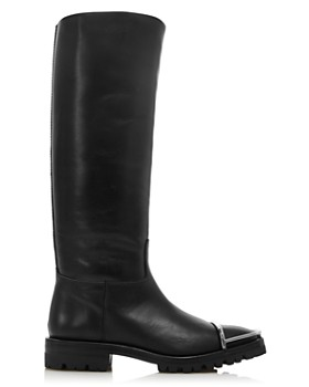 Alexander Wang - Women's Bobbie Leather Riding Boots