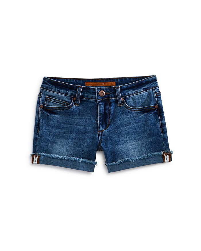 JOE'S - Girls' The Markie Rolled-Cuff Denim Shorts in Medium - Big Kid