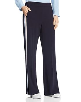 Marella - Nodo Racing Stripe Jersey Pants