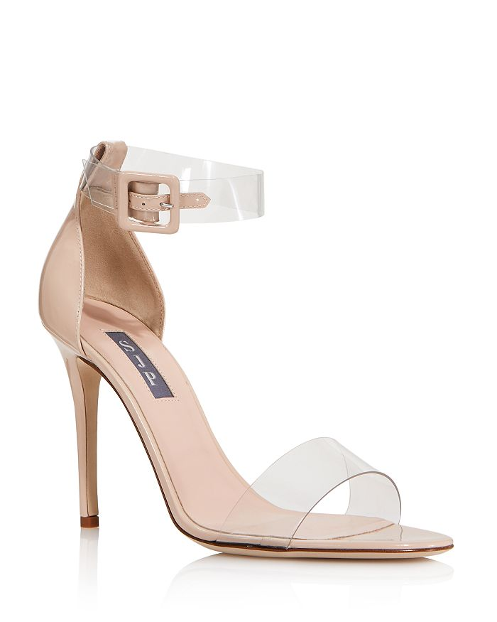 SJP by Sarah Jessica Parker - Women's Lively Clear High-Heel Sandals - 100% Exclusive