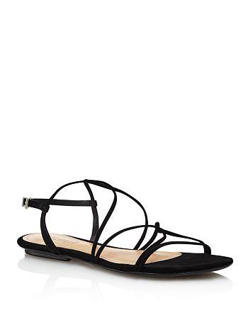 SCHUTZ - Women's Boyet Strappy Suede Sandals