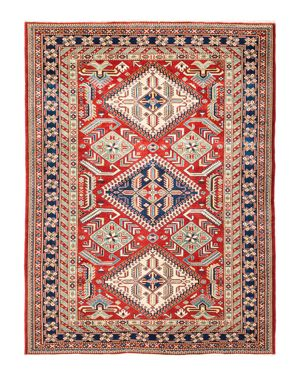 Solo Rugs Shirvan Collection Bolnisi Hand-Knotted Area Rug, 5'1 x 6'7