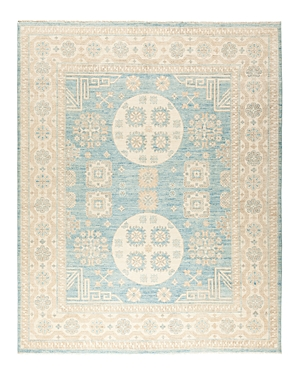 Solo Rugs Khotan Lunar Hand-Knotted Area Rug, 8'1 x 10'1