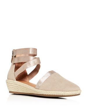 Gentle Souls by Kenneth Cole Women's Noa-Beth Ankle-Strap Low Wedge Sandals