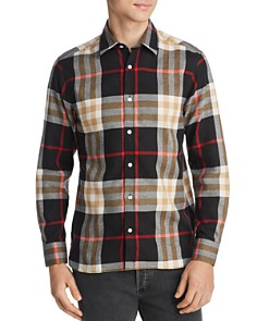 Burberry - Richard Check-Print Classic Fit Flannel Shirt