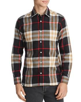 b60e27ef3e91b Burberry - Richard Check-Print Classic Fit Flannel Shirt
