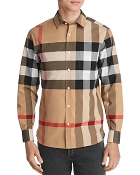 f6567ef8c09e Burberry - Windsor Check-Pattern Classic Fit Shirt