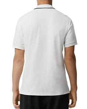 6ee15253804b8c ... Burberry - Moreton Logo-Stamp Piqué Regular Fit Polo Shirt