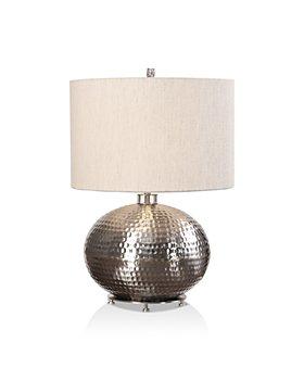 Uttermost - Metis Hammered Steel Lamp