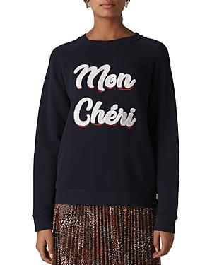 Whistles Mon Cheri Sweatshirt
