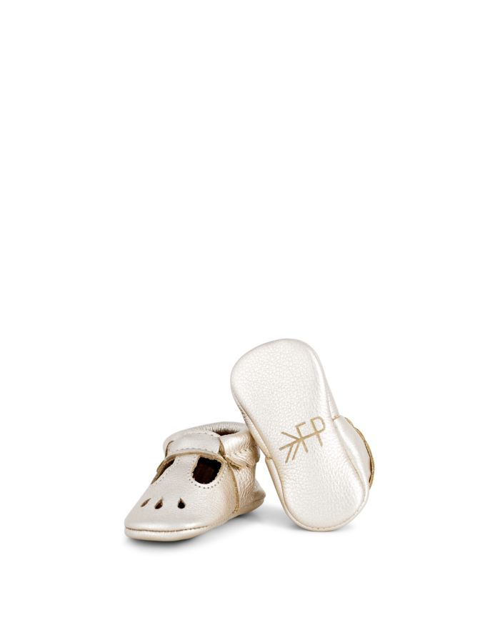 Freshly Picked Girls' Leather Mary Jane Moccasins - Baby    Bloomingdale's