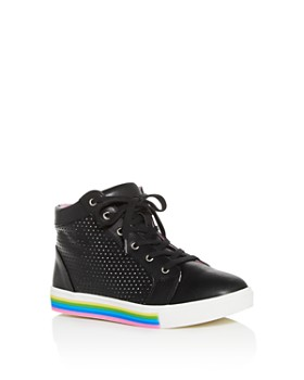 4ccab6d4d9a STEVE MADDEN - Girls  JGroove High-Top Sneakers - Little Kid