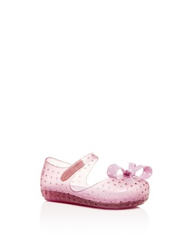 d9a0d63a8538 Mini Melissa - Girls  Mini Furadinha XI Mary-Jane Flats - Baby