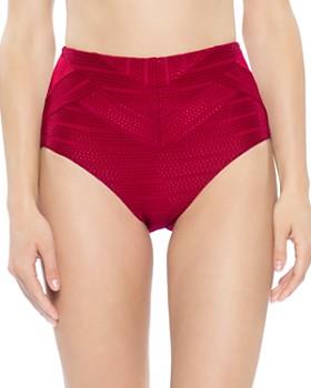 BECCA® by Rebecca Virtue - Crossroads High Waist Bikini Bottom