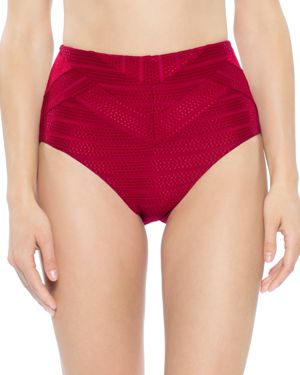 Becca by Rebecca Virtue Crossroads High Waist Bikini Bottom