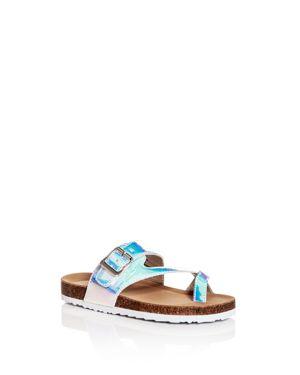 Steve Madden Girls' JWaive Slide Sandals - Toddler, Little Kid, Big Kid