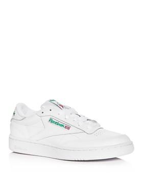 Reebok - Men's Club C Classic Leather Low-Top Sneakers