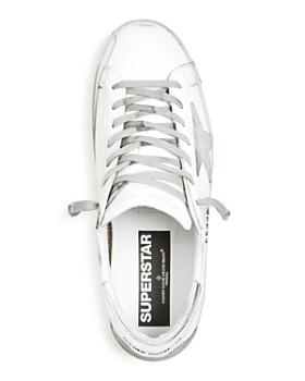 Golden Goose Deluxe Brand - Men's Superstar Leather Low-Top Sneakers