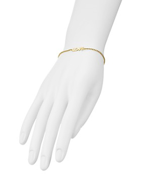 AQUA - Love Adjustable Bracelet in 14K Gold-Plated Sterling Silver - 100% Exclusive