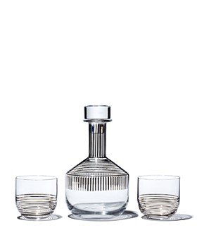 Tom Dixon - Striped Whiskey Barware Set
