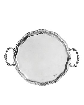 Arte Italica - Vintage Scalloped Tray with Handles