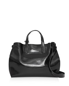 Burberry - Soft Leather Medium Banner Bag
