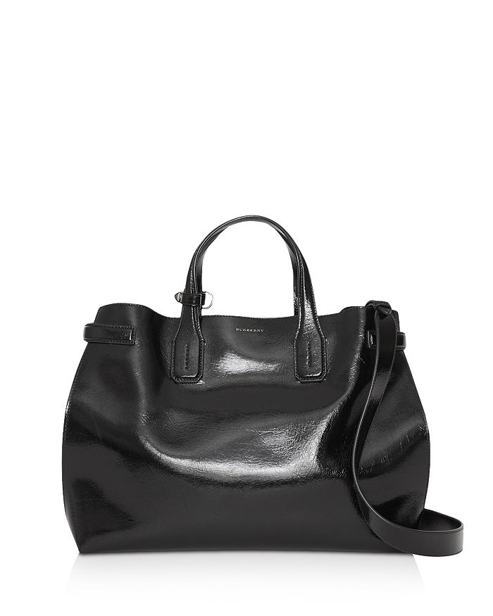 2af6412b7da2 Burberry - Soft Leather Medium Banner Bag