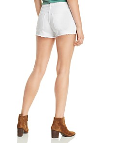 Hudson - Gemma Cutoff Denim Shorts in White