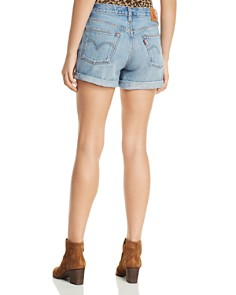 Levi's - 501 Distressed Denim Shorts in Highways and Biways