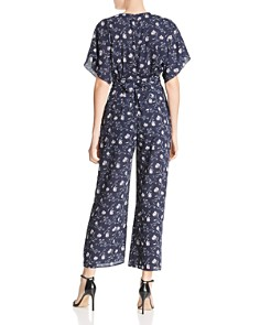 LIKELY - Adelaide Floral-Print Cropped Jumpsuit