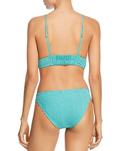 ViX - Emerald Scales Helen Bikini Top & Emerald Scales Basic Bikini Bottom